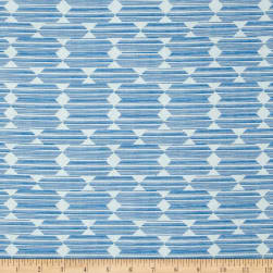 Cloud 9 Organic Lore Anecdote Blue Fabric