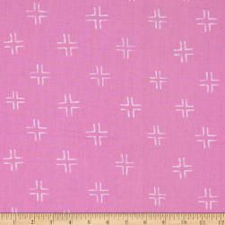 Cloud 9 Organic Brush Strokes Trellis Purple Fabric