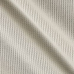 Kaufman Thermal Knit Natural Fabric