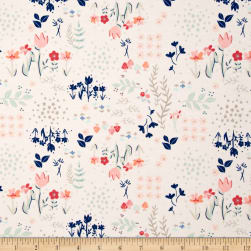 Art Gallery Paperie Jersey Knit Library Gardens Fabric