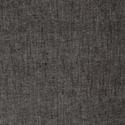 Luminary Yarn Dyed Chambray Black/White Fabric