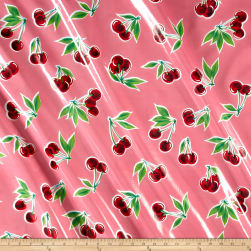 Oilcloth Stella Pink Fabric