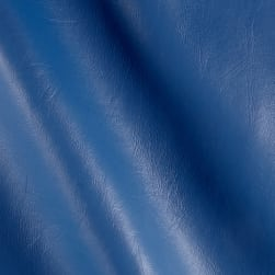 Vinyl Denim Blue Fabric