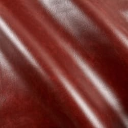 Faux Leather Rusty Brown Fabric