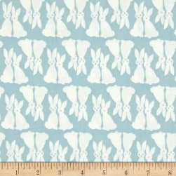 Kaufman Pacific Bunnies Fog Fabric