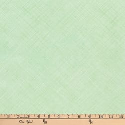 Kaufman Architextures Diagonal Grid Mint Fabric