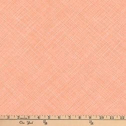 Kaufman Architextures Diagonal Grid Creamsicle