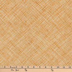 Kaufman Architextures Diagonal Grid Caramel Fabric