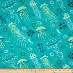 Michael Miller Into The Deep Tropical Fabric