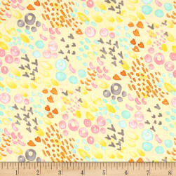 Michael Miller Nature Walk Summer Meadow Primrose Fabric