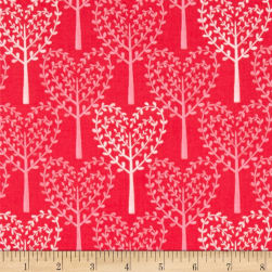Michael Miller Nature Walk Friendly Forest Azalea Fabric