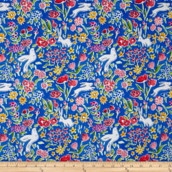 Michael Miller Sommer Garden Blueberry Fabric