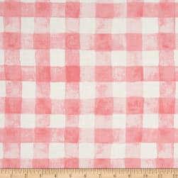 Michael Miller Sommer Painted Gingham Bloom Fabric