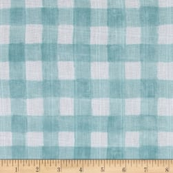 Michael Miller Sommer Double Gauze Mini Painted Gingham