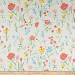 Michael Miller Sommer Canvas Plockade Full Bloom Fabric