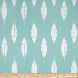 Premier Prints Feather Silhouette Twill Canal Fabric