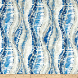 Duralee Fountain Bleau Navy Linen Fabric