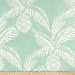Duralee Pina Pineapple Aqua Fabric