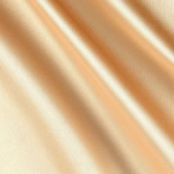 Silky Satin Charmeuse Solid Gold