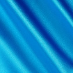 Silky Satin Charmeuse Solid Turquoise Fabric