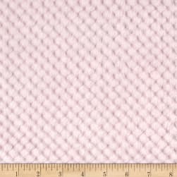 Shannon Minky Cuddle Cloud Spa Baby Pink Fabric