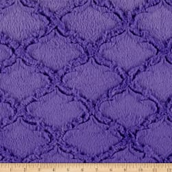 Shannon Minky Luxe Cuddle Lattice Jewel Fabric