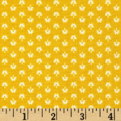 Mary Fons Small Wonders India Ditsy Gold Fabric