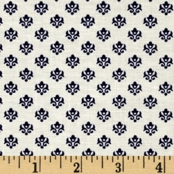 Mary Fons Small Wonders Netherlands Ditsy Blue Fabric