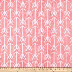 Shannon Premier Prints Minky Cuddle Archer Coral/Snow Fabric