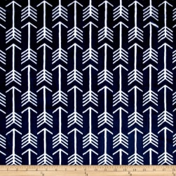 Shannon Premier Prints Minky Cuddle Archer Navy/Snow Fabric