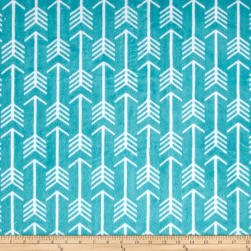 Shannon Premier Prints Minky Cuddle Archer Teal/Snow