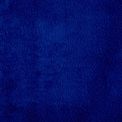 Shannon Minky Solid Cuddle 3 Royal Blue Fabric