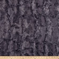 Shannon Minky Luxe Cuddle Hide Charcoal Fabric