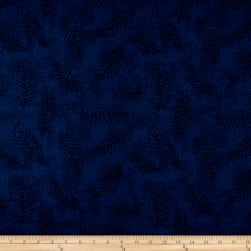"110"" Wide Flannel Quilt Back Fern Teal"