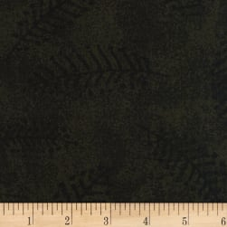 110'' Wide Flannel Quilt Back Fern Olive Fabric