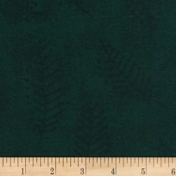 110'' Wide Flannel Quilt Back Fern Green Fabric