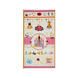 Sweet Princess 24 In. Panel Pink/Yellow