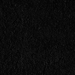 Shannon Terry 16 ounce Cloth Black Fabric