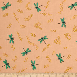 Birch Organic Swan Lake Dragonflies Shell Fabric