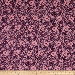 Fabric Merchants Cotton Lycra Spandex Jersey Knit Floral
