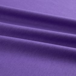 Merchants Cotton Jersey Knit Solid Dark Lavendar