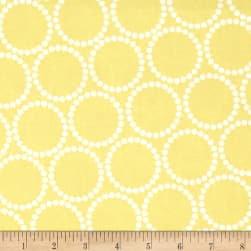 Mini Pearl Bracelets Citron Fabric
