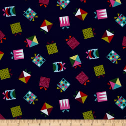 Wrap It Up Presents Blue/Multi Fabric