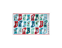 Frosty Stocking Advent Calendar 24