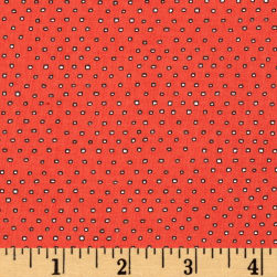 Pixie Square Dot Tomato Fabric