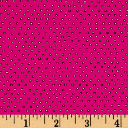 Pixie Square Dot Hot Pink