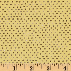 QT Fabrics Pixie Square Dot Yellow Fabric