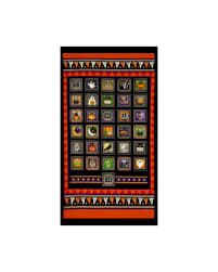 QT Fabrics Creepy Hollow Halloween Patch 24 In.