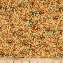 Wild Pheasants Wheat Multi Fabric