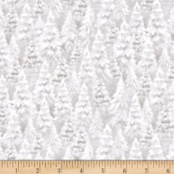 Woodland Wonder Tree Blender Light Khaki Fabric